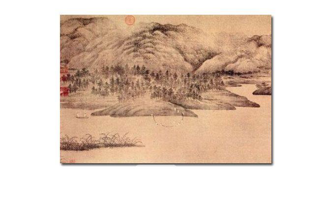 北苑的江南——董源《潇湘图》赏析