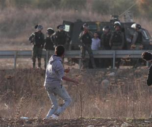 巴勒斯坦民众游行集会抗议美国改变犹太人定居点政策