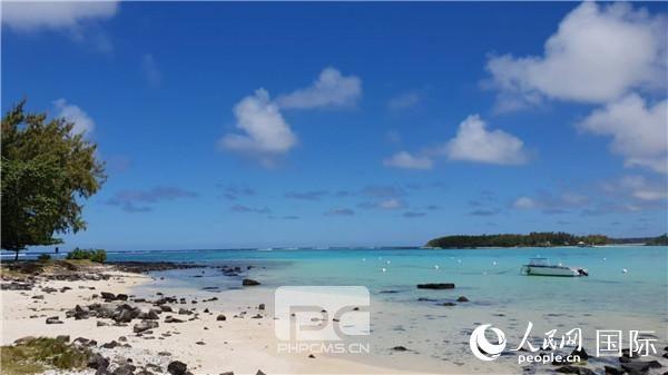事发前的毛里求斯蓝湾海洋公园。(万宇摄影)